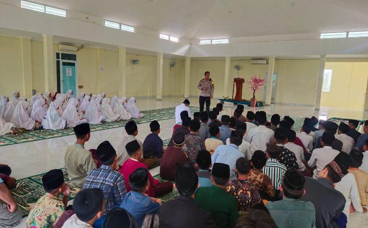 Jalin Silahturahmi Dengan Tokoh Agama, Dirbinmas Polda Banten Kunjungi Pondok Pesantren Modern Shohibul Muslimin