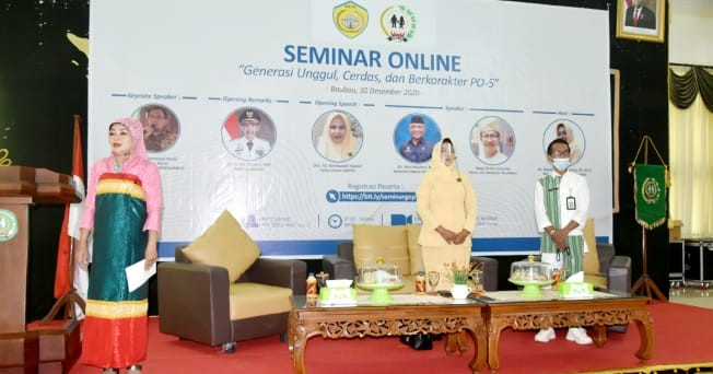 Dr.H Nanik Muhtar GOPTKI Baubau Komitmen Dukung Visi Misi Pemerintah Baubau