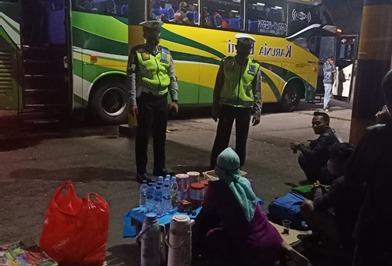 Ditlantas Polda Banten Patroli Sosialisasikan Prokes Dan 3M