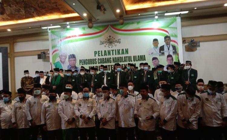 Ketua NU Kabupaten Bekasi, Ingin Sinergi Dengan Pemerintah Daerah