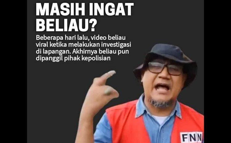 Edy Mulyadi Dipanggil Polisi, PPWI Minta Polri Ajak Wartawan Ungkap Kasus Tewasnya Anggota FPI