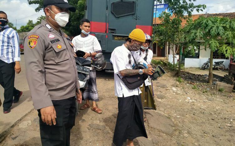 Cegah Aksi Oknum Ormas, Personel Polda Banten Lakukan Filterisasi Massa Guna Mencegah Kerumunan