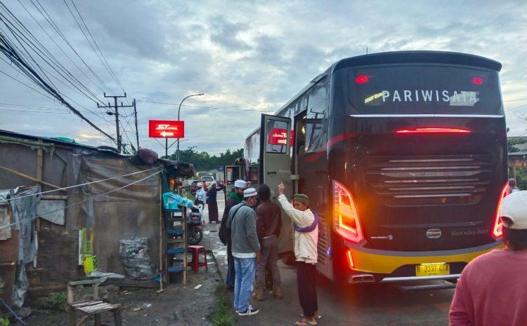 Hendak Ke Jakarta, Polres Serang Putar Balikkan 1 Bus Berisikan Massa Aksi