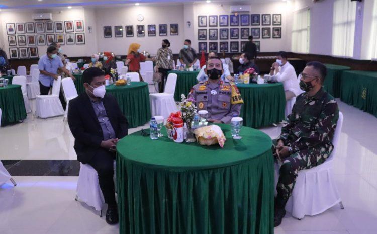 Kapolda Banten Hadiri Acara Pisah Sambut Kepala Kejaksaan Tinggi Banten