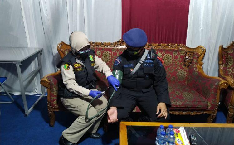 Berikan pelayanan kesehatan, Biddokkes Polda Banten Patroli Kesehatan Ke Pos Operasi Lilin Kalimaya 2020