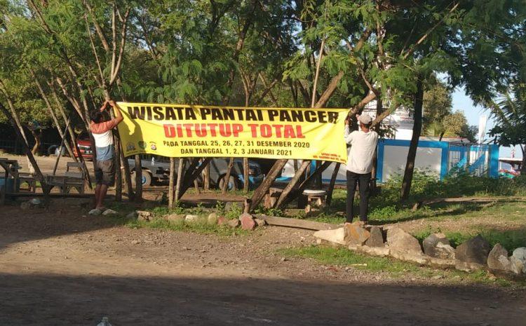 Cegah Covid-19, Wisata Pantai Gope Dan Pantai Pancer Sementara Tutup