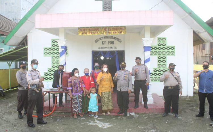 Ciptakan Kamtibmas Aman Kondusif, Polres Sergai Patroli Ke Rumah Ibadah