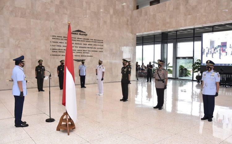 Panglima TNI Tutup PendidikanRegulerSesko TNI Angkatan 47 Tahun 2020