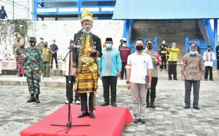 Deklarasi Jaga Keutuhan NKRI, Pemkot Kota Baubau Gandeng TNI – POLRI