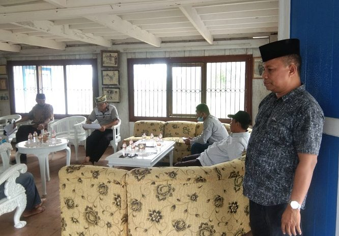 Lembaga Kesultanan Buton Persiapkan Kunjungan Kerja Pangdam XIV Hasanuddin Di Kota Baubau