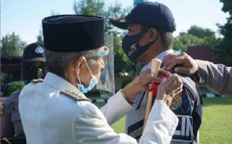 Walikota Baubau Pimpin Apel, Gelar Pasukan Operasi Lilin Tahun 2020