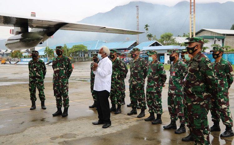 Panglima TNISiapkan Hercules Bantu Masyarakat Papua Rayakan Natal