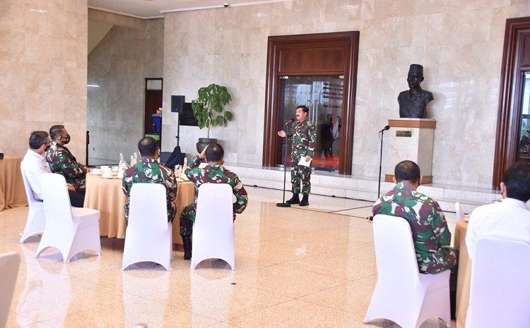 Panglima TNI GelarCoffee MorningBersama Jajaran BPK RI