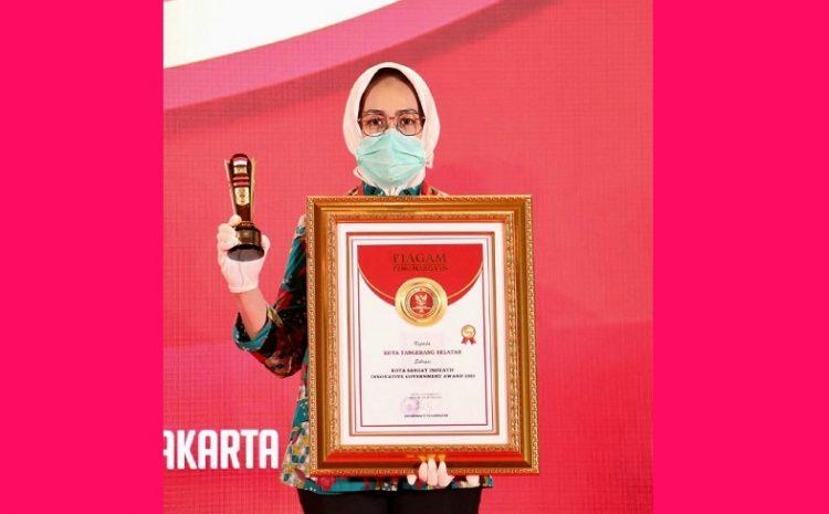 Pemkot Tangsel Dapat Penghargaan Daerah Innovative Government Award (IGA)