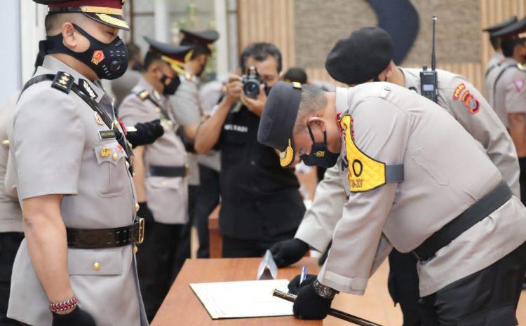 Kapolda Sumut Pimpin Sertijab 11 Pejabat Utama Polda Sumut