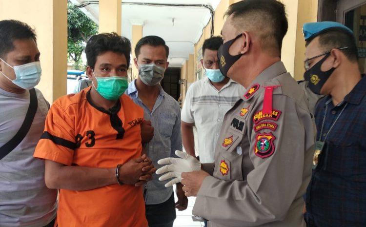 Melawan Saat Diciduk, Pencuri Kotak Infaq Ditembak Polsek Medan Timur