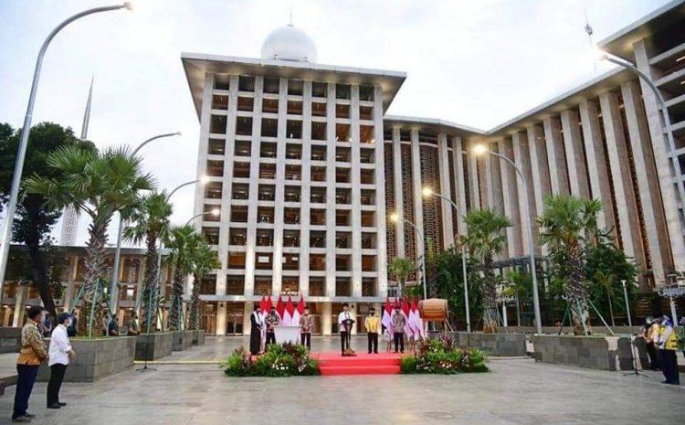 Presiden Jokowi Resmikan, Renovasi Besar Masjid Istiqlal