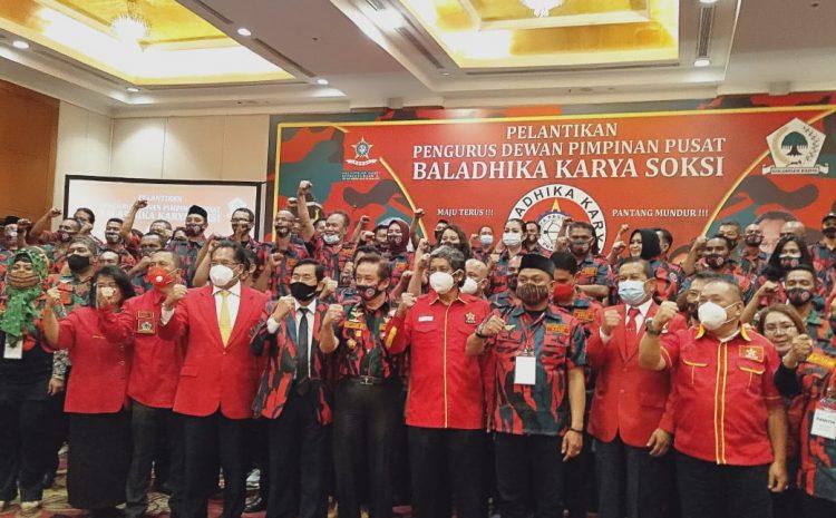 Pelantikan Pengurus Dewan Pimpinan Pusat Baladika Karya SOKSI Periode 2020 – 2022