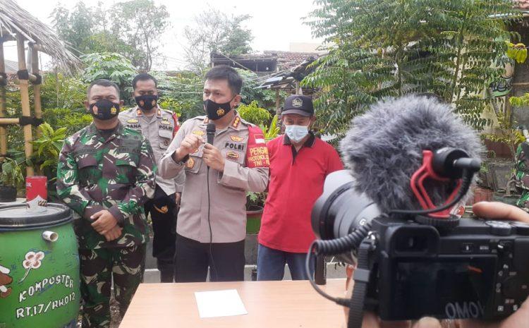 Dandim 0509 Dan Polres Metro Bekasi Meresmikan Kampung Tangguh Jaya Di Villa Tunas Tiga