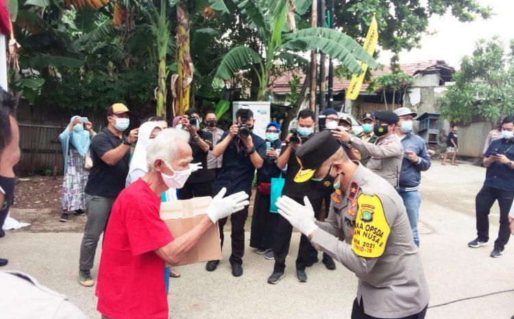 Kunjungi Kampung Tangguh,Wakapolda Metro Jaya Ajak Petugas Jangan Kendor Tangani Covid 19