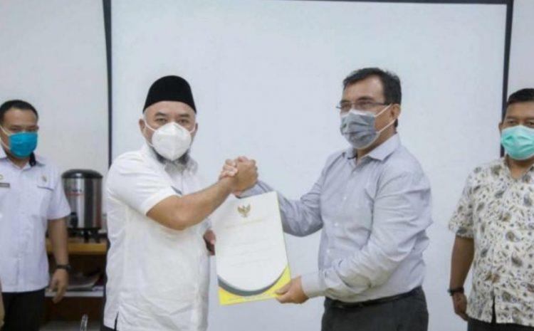 PT.Pangkatan Indonesia Menghibahkan Lahan Seluas 3 Hektar Kepada Pemkab Labuhanbatu