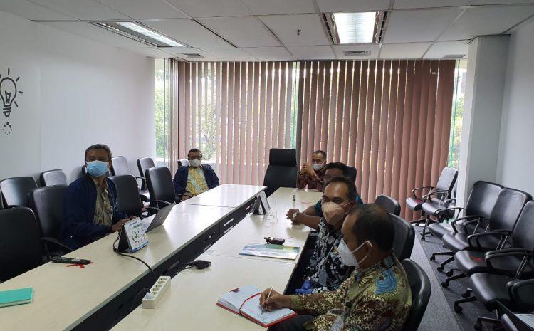Audiensi Bupati Batu Bara Dengan Menteri Komunikasi Dan Informatika RI