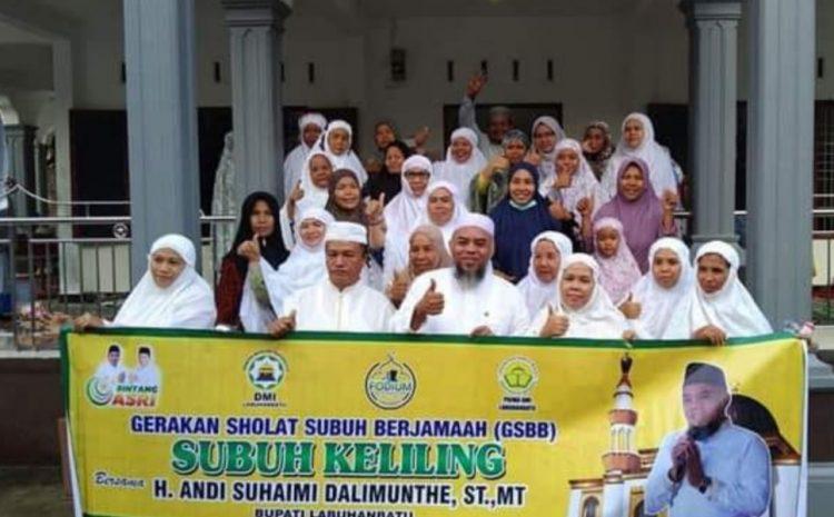 Bupati Labuhanbatu Laksanakan Solat Subuh Berjamaah Di Masjid Nurul Huda