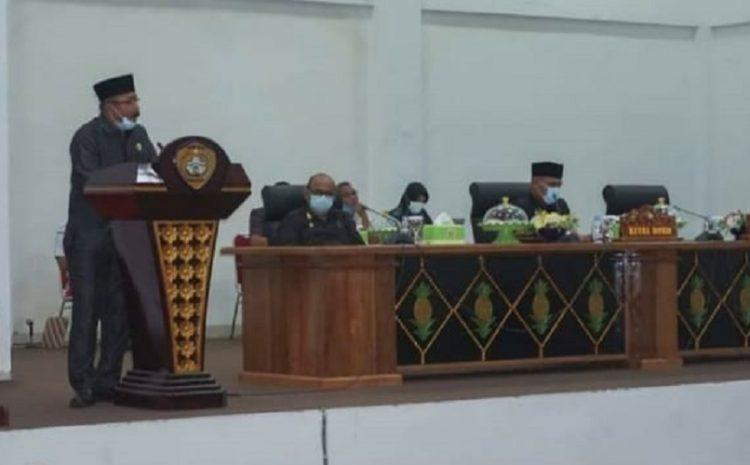 DPRD Setujui 19 Program Pembentukan Perda Baubau Tahun 2021