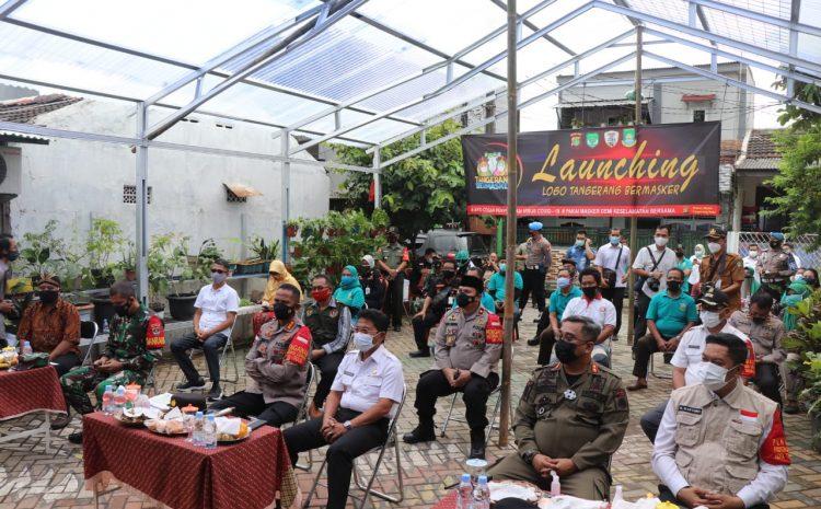Polres Tangerang Kota Gelar Virtual Launching Jakarta Bermasker