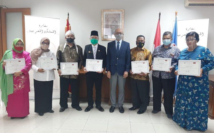 Dubes Maroko Beri Penghargaan Ke Ratusan Media Massa Termasuk Skalainfo.net, Ini Daftar Medianya