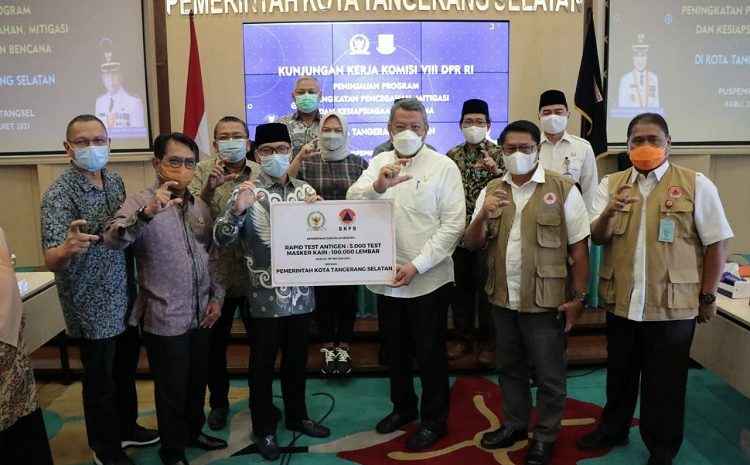 Benyamin Terima Kunjungan DPR RI Komisi VIII