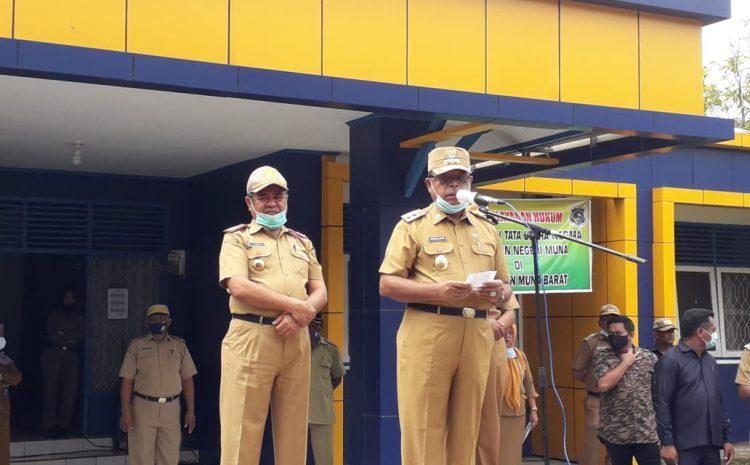Jelang Bulan Ramadhan, Bupati Mubar Instruksikan Kepala OPD Bersih-bersih Lingkungan Kantor