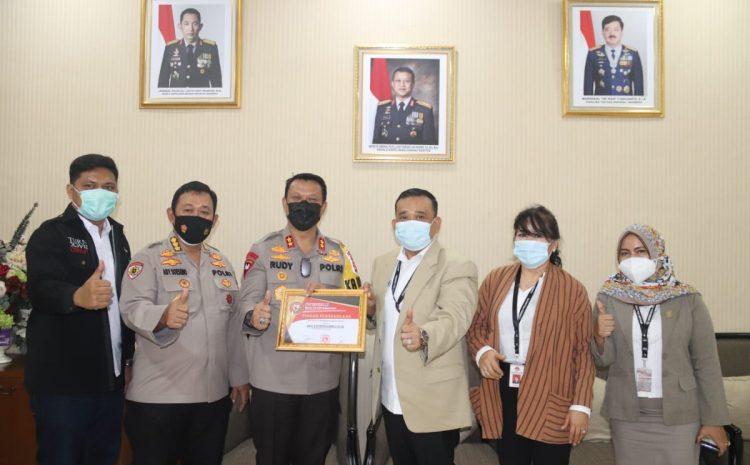Kapolda Banten Terima Kunker Badan Peneliti Independen Kekayaan Negara dan Pengawas Anggaran RI