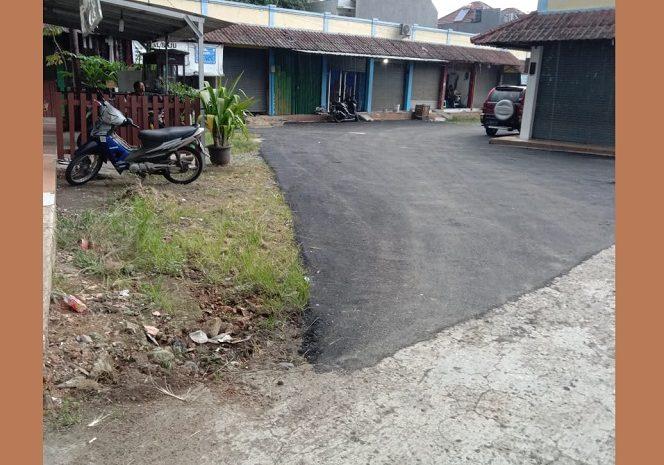 Dasar Kepentingan Pembangunan Jalan Dipasar Mandiri Asal Jadi