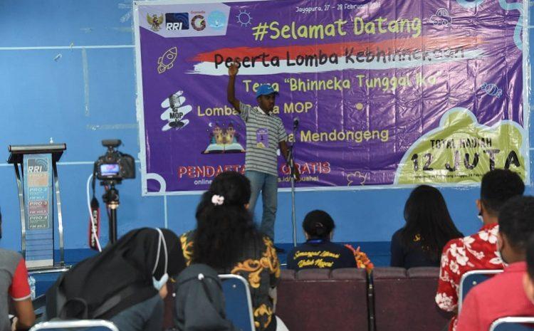 Pemuda Dan Pemudi Papua Ikuti Lomba Kebhinnekaan