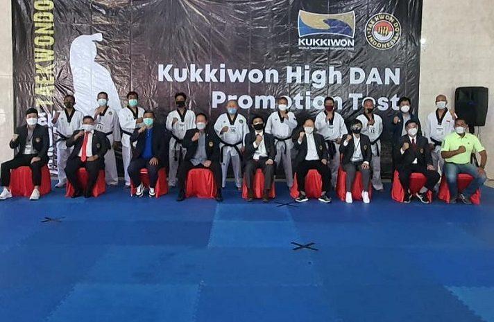 Taekwondo Indonesia Gelar UKT High DAN Di Dodik Bela Negara Bandung