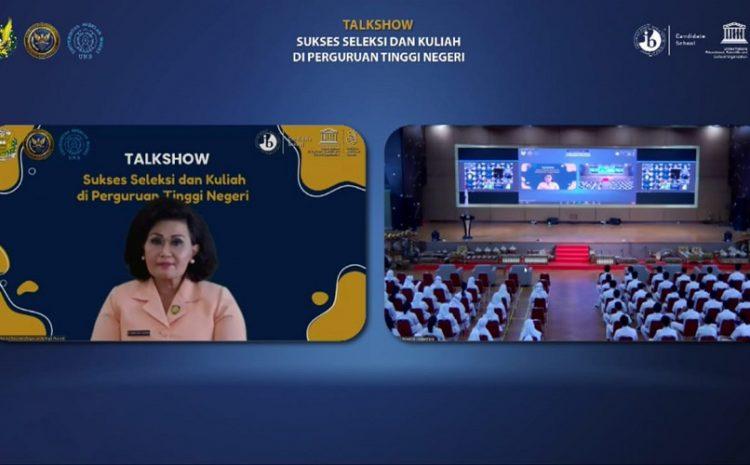 SMA Pradita Dirgantara SelenggarakanTalk Show,Sukses Seleksi Dan Kuliah Di Perguruan Tinggi Negeri Bersama Para Rektor