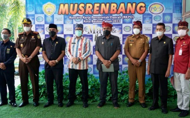 Buka Musrembang RKPD TAHUN 2022, LA Ode Ahmad Monianse Harapkan Adanya Program Inovatif & Kolaboratif