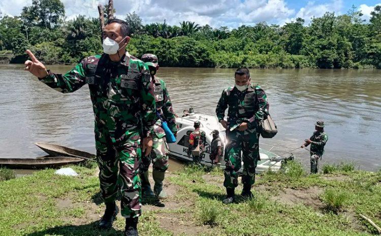 Tim Wasev Mabes TNI AD Tinjau Lokasi TMMD ke-110 Kodim Boven Digoeldi Distrik Kawagit