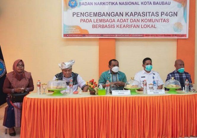 Hadapi Bonus Demografi, La Ode Ahmad Monianse Ajak Lembaga Adat Kesultanan Lawan Narkoba