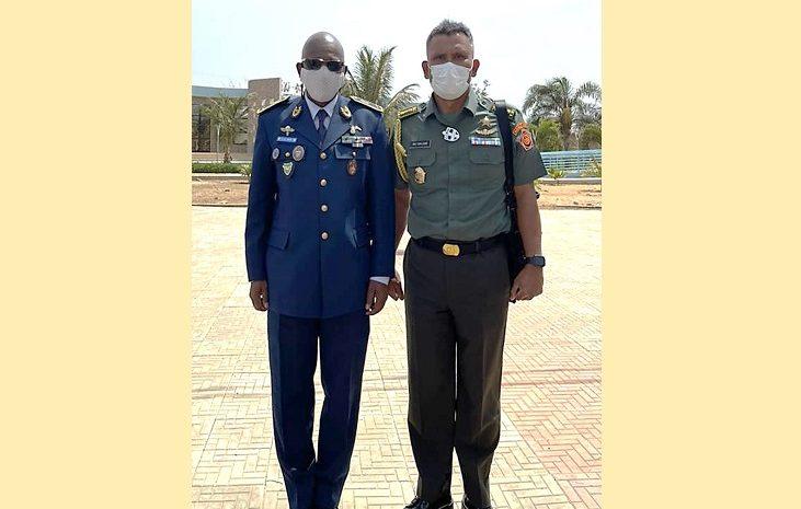 Wujud Kerjasama Militer Pertahanan, Athan RI Sambut Kedatangan Pesawat CN 235-220 MPA Di Senegal