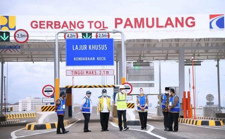 Diresmikan Jokowi, Airin Berharap Adanya Tol Serpong-Pamulang Tingkatkan Perekonomian Kota Tangsel