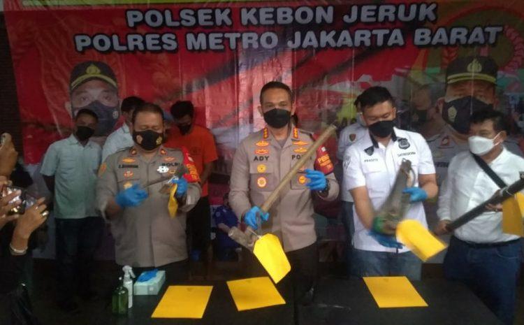 Modus Baru Pencurian Rumah Mewah, Berhasil Diungkap Jajaran Polres Metro Jakarta Barat