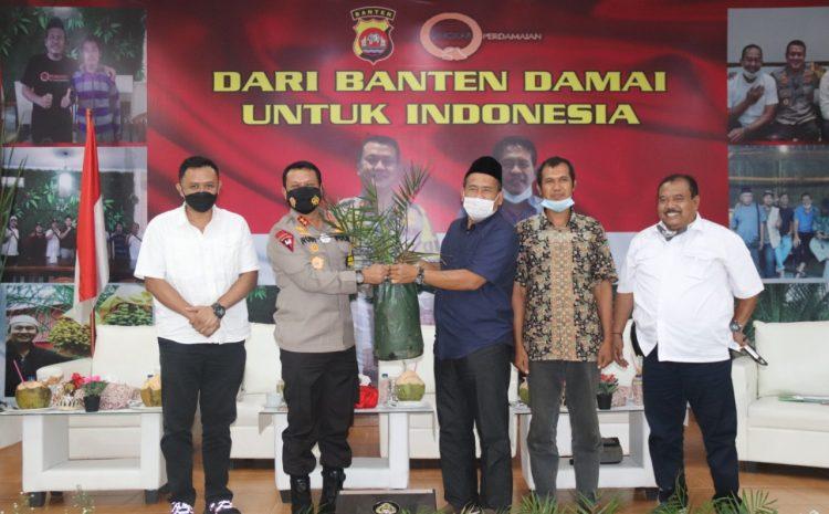 Polda Banten Gandeng Yayasan Lingkar Perdamaian, Gelar Seminar Argokultural Penanaman Pohon Kurma