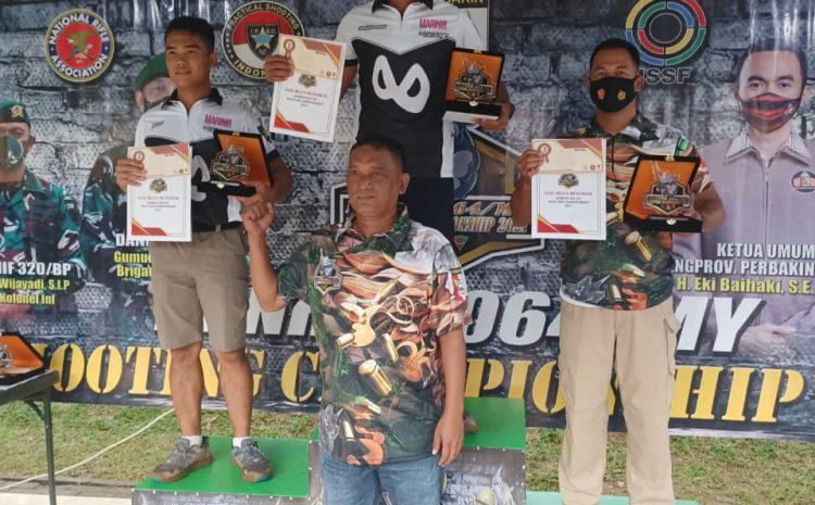 Lomba Menembak Danrem Cup, Tiga Personel Sat Brimob Polda Banten Raih Medali IPSC