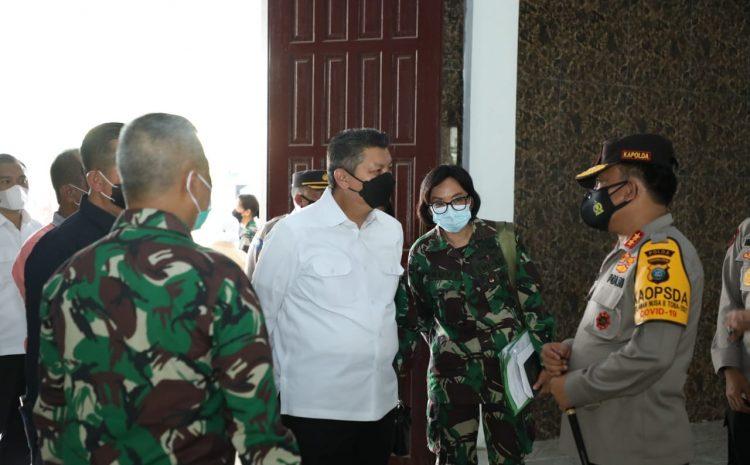 Kapolda Sumut Jemput Kedatangan KSAU di Lanud Soewondo Medan