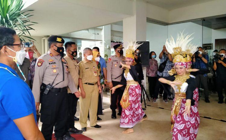 Kunker Menparekraf RI, Polres Serang Kota Siagakan Puluhan Personel