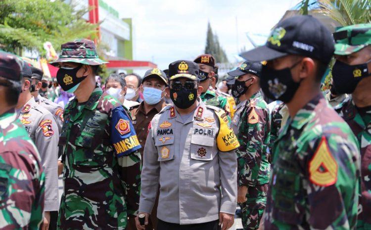 Kapolda Sumut Dampingi Kalemdiklat Polri dan Danjen Akademi TNI Tinjau Satlat Macan Latsitardanus XLI di Simalungun