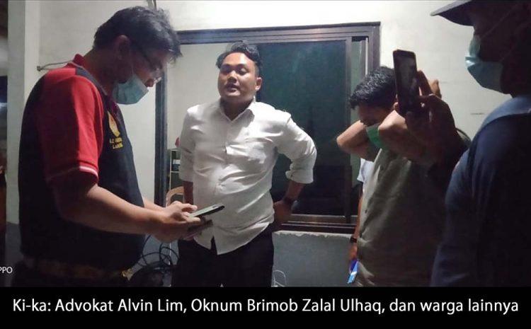 Diduga Jadi Backing Bos Kapal Api, Wilson Lalengke Desak Oknum Brimob Polda Banten Diberi Sanksi Tegas