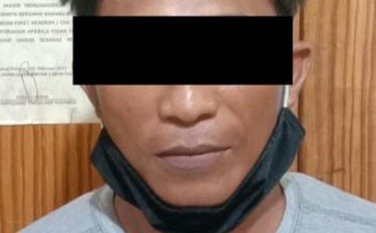 Maling Motor Pegawai Pengadilan Agama , 5 Pria Mendekam di Penjara Polsek Lubuk Pakam